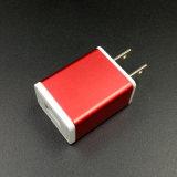 El aluminio US/EU el enchufe USB cargador de teléfono celular Samsung/iPhone
