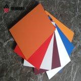 Serbia rojo, plata externo PVDF Revestimiento de pared de aluminio Panel (AF-370)