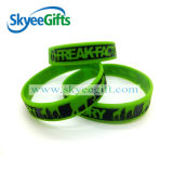 Form-nach Maß freie Entwurfs-Silikonarmbänder oder Wristbands