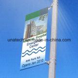 Hardware basso della bandiera di pubblicità esterna della casella chiara degli annunci della via della parentesi della bandiera