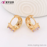 90267 Lady의 Best Gifts를 위한 Fashion 최근 Elegant 18k 금 Plated Crystal Jewelry Earring Hoops