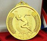 豪華で熱い販売3Dのロゴ亜鉛合金の実行メダル
