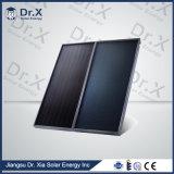 Cofre Grande colector solar de painel plano de projeto