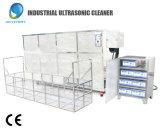 Máquina de limpeza / lavagem ultra-sônica industrial para motores / filtros / trocadores de calor