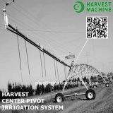 Système linéaire/transversal d'alimentation de fossé de mouvement de roue d'irrigation