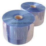 Filme retrátil de PVC de fábrica selável de calor do material de embalagem