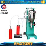 Máquina de enchimento do pó do ABC para o extintor de extintor de incêndio/incêndio do CO2