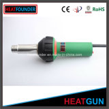 Una temperatura estable de plástico de PVC de aire caliente de la máquina de empatar