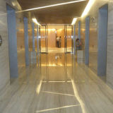 Flooring Wall (YQG-MT1008)를 위한 Polished Interior Decoration Wood Grain Marble Slab