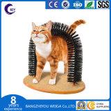 Gato de la perca Scratcher muebles Pet Post juguete árbol arañando Hierba gatera Cat Kitten Auto Brooming y masajear