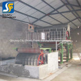 Tejido en relieve el papel y papel higiénico/suave línea de producción de papel higiénico