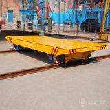 Elektrischer Industrie-Materialtransport-Lastwagen für schwere Waren auf Schienen