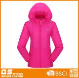 Куртка дождя способа женщин