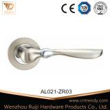 Punho de porta de alumínio antiquado com fecho de cilindro (AL080-ZR11)