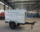 Compresor de aire diesel de poco ruido de 8 barras