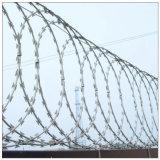 Prikkeldraad voor de Omheining van het Gebied in Militair en Gevangenis wordt gebruikt die