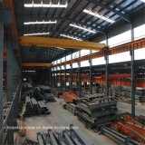 低価格の組立て式に作られた鉄骨構造のビーム研修会か倉庫