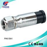 Conetor de cabo coaxial do RF da compressão Rg11 (pH6-5041)