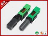 FTTH SC/APC SC/UPC rápido de fibra óptica Conector rápido montaje en campo