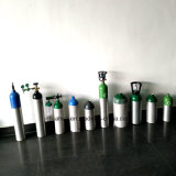 Cilindro de alumínio médico/industrial 8L da venda quente de oxigênio
