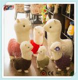 최신 판매 각종 크기에 의하여 채워지는 알파카 장난감 견면 벨벳