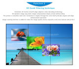 큰 광고 게시판 LED Backlit 매우 좁은 날의 사면 49inch 풀 컬러 LCD 영상