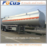 Welle 3 52000 Liter Aluminiumstahlbrennölbecken-Sattelschlepper-