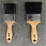 OEM обслуживает щетинку Китая деревянной ручки щеток обломока краски чисто