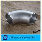 溶接されるステンレス鋼A403 Wp316Lのバットは90deg肘Lrである