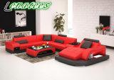 Modèle neuf des meubles G8009 de sofa de luxe de cuir véritable