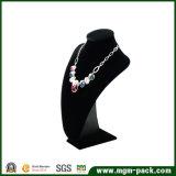 Visualización negra clásica vendedora caliente de la joyería del terciopelo