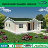 Long temps de service haut de construire maison préfabriquée mobile avec des panneaux solaires de la conservation de l'énergie système maison préfabriqué