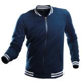 Mens Varsity 야구 폭격기 프랑스 테리 양털 로고에 의하여 주문을 받아서 만들어지는 재킷