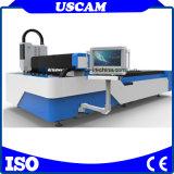 Machine de découpe laser métallique en acier inoxydable pour le carbone aluminium Steeel