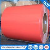 PE/PVDF Peinture 0,02mm-3.0 mm épaisseur Pre-Painted couché couleur/bobine en aluminium/bande/feuille/board/panneau/la plaque pour les pays ACP et la décoration/matériaux de construction