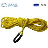 新式の高品質によって着色される綿ロープ