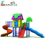 preço de fábrica as crianças de design mais recentes conjuntos de parque infantil exterior de plástico
