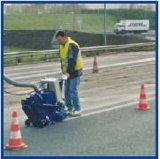 道のショットブラスト機械のゴム製クリーニング機械