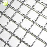 SS316ステンレス鋼の正方形の装飾的な編まれたひだを付けられた金網