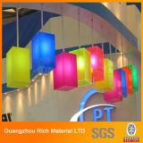 Folha de acrílico colorido para produtos de iluminação/Folha de PMMA plástico Plexiglass para publicidade