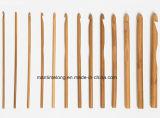 Crochet di bambù Hook 12PCS/Set 3mm-10mm Smooth Carbonized