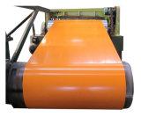 Acier galvanisé prélaqué bobine avec couleur RAL