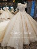A Esfera Aolanes Beca ilusão de manga com vestido de noiva 111316