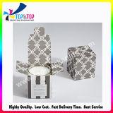 Cadre de papier compressible estampé polychrome de cadeau en gros de bougie