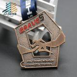 Таможня выдалбливает вне медаль спортов металла идущее с эмалью