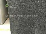 カウンタートップの台所上のFrontdeskの上のためのG654ゴマの黒の花こう岩の平板