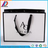Kundenspezifische farbige Luxuxkleid-Papier-MattEinkaufstasche