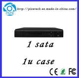 gravador de vídeo da rede de 3G e de WiFi mini 1u (4CH5m/4CH3m/8CH3m/16CH960p) NVR {NVR8008t-Q}