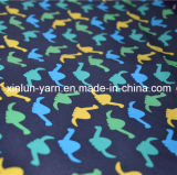 Home Use Bathroom Curtain Printing Fabric avec Star Print Type