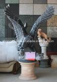 Tallados en piedra negra Eagle